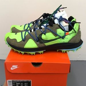 Off-White x Nike Air Terra Kiger 5, Electric Green
